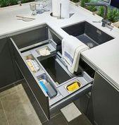 Die besten Lösungen für die Küchenorganisation   – Haus Dekoration