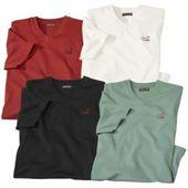 Reduced V-shirts for men