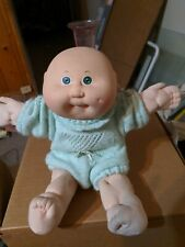 Vintage Coleco Cabbage Patch Kids Bald Baby Doll Green Eyes One Dimple 1985 Patch Kids Cabbage Patch Kids Vintage Cabbage Patch Dolls