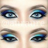 12 Chic Blue Eye Make-up-Looks und Anleitungen – Beauty