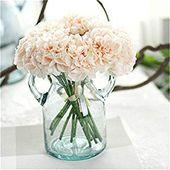 1 Bouquet 5 Köpfe Pfingstrose Blume Kunstseide Gefälschte Pfingstrose Blumenhochzeit Brautstrauß Hochzei …   – Silk Wedding Bouquets