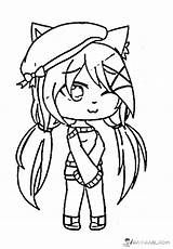 Gacha Life Coloring Pages Characters In 2020 Coloring Pages