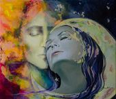 Another Kind Of Rhapsody Art Print by Dorina  Costras