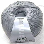 Baby Baumwolle Hellgrau von Lang Yarns   – Baby Cotton Uni / Baby Cotton Color Lang Yarns