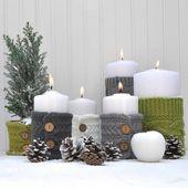 Kerzen verzieren zu Weihnachten – Beliebte Motive und tolle Techniken zum Nachmachen