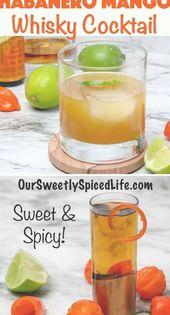Mischen Sie noch heute diesen erfrischenden Sommer-Whisky-Cocktail! Glatter Whisky wird infus …