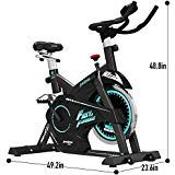 Pooboo Pro Indoor Cycling Bike Belt Drive Exercise Bikes Smooth Quiet Bicycle Cardio Fitness Cycle Train Indoor Cycling Bike Best Exercise Bike Biking Workout