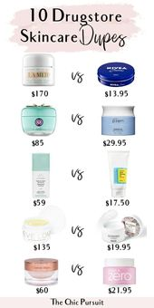10 Drugstore Skincare Dupe for the Most Popular Products – Including Anti … – FITNESS WORKOUTS