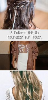 16 Simple Half Up Hairstyle Ideas For Women