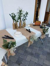DIY rustikale Hochzeitsideen mit kleinem Budget – #Budget #DIY #event #Ideas #Rustic #Weddi ….