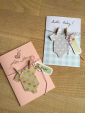 Congratulations card: Hello Baby