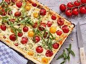 Schnelle Leckere Tomaten-Quiche