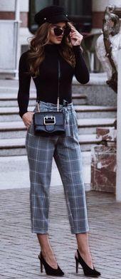 49 Winter Casual Work Outfits, in die Sie sich verlieben werden – Winter outfits