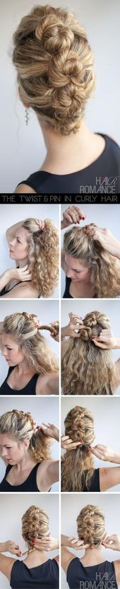 53+ ideas for hairstyles cute easy bobby pins