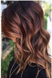 24 Schwarzes Haar mit Highlights zum Ausprobieren   – Friseur