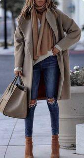 45 umwerfende Winteroutfits zum Ausprobieren / 45 #Winter #Outfits