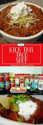 The Best Crock Pot Taco Soup