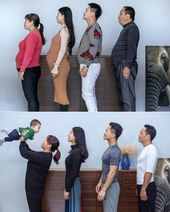 Chinese photographer Jesse Ding documented his family's weight loss journey on I…