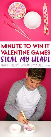 Minute, um es zu gewinnen Valentinsspiele werden der Hit Ihrer Valentinstagsparty sein … – Valentines day party