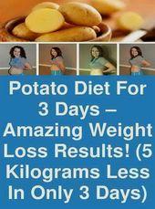 ¡La dieta de la papa promete una rápida pérdida de peso! #dietplanstoloseweightforwomen #howt …   – Total body toning