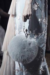 Ulyana Sergeenko Haute Couture Fall/Winter 2015-2016 Particulars.                   …