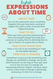 13 English Expressions about TIME • Enhance your English Vocabulary