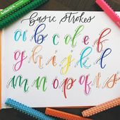 Calligraphy and hand lettering for beginners! We p…