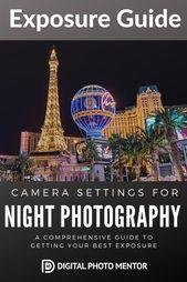 Einstellungen für Nachtaufnahmen – Leitfaden für die bestmögliche Belichtung   – PHOTOGRAPHY
