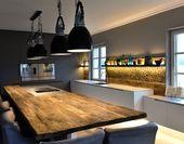 20 moderne Küchen mit Kochinseln