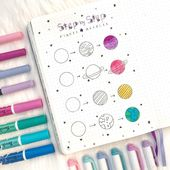 16 Doodle Tutorials (Step By Step) For Your Bullet…