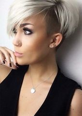 51 Edgy and Rad Short Undercut Hairstyles for Women, #Edgy #fashionhairstyleswomen #Women #F …