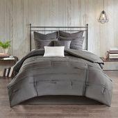 510 Design Janeta 8 Piece Comforter Set 2-Color Option (White - King)