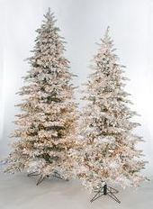 Earthflora S 7 5 Ft 9 Ft And 12 Ft Snowy Flocked Polaris Slim Pine Tree With 3mm Multi Functional Led Lights Led Christmas Lights Flocked Christmas Trees Alpine Christmas Tree