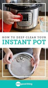 c931190edf7f7ce6d5dc74aacd7f755d Part of being a good Instant Pot owner is keeping it clean! I'm sharing how ...