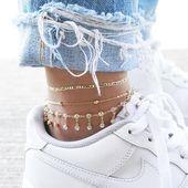 Seraphic Fußkettchen Set #jeweleryideas #kettchen…