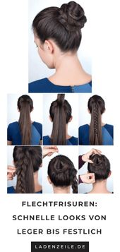 Braiding hairstyles: Instructions for styling hair