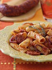 Tortiglioni mit Chorizo  #Chorizo #mit #Tortiglioni