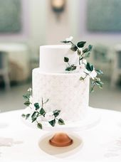 Think about sugar flowers an edible gum paste design that has wire/toothpicks on… – Wedding Cakes