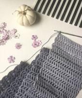 Learn How to Crochet: Fast Treble Crochet Scarf – Craft-Mart