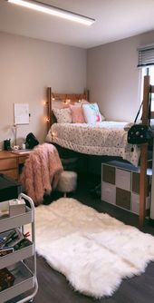 ✔78 dorm room necessities create a trendy house for lounging, learning and sleeping 63   Justaddblog.com