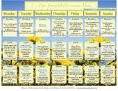 Med Diet 7 Day Menu Spring-Summer | Oldways