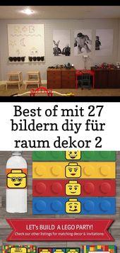 Beste von 27 Bildern diy für Raumdekor 2   – Lego