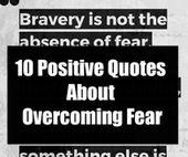 10 positive Zitate über die Überwindung der Angst – Hypocrite quotes
