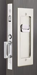 Emtek Pocket Door Privacy Lock Set Antique Pewter
