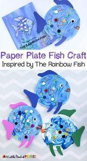 Pappteller Fishcraft Inspiriert von The Rainbow Fi…