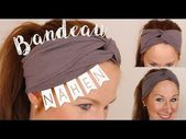 Sewing instructions for beginners // Sew bandeau hair band // DIY // * Handmadebyannii