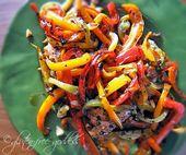 Easy Chicken und Balsamic Peppers – Glutenfrei
