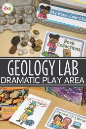 How to Set Up a Geology Lab Dramatic Play Center