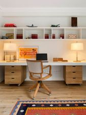 15 Inspirierende moderne Mid-Century Home Office-Designs