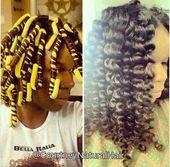 Für das natürliche Haarbrett   – I LOVE her curls
